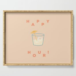 Happy Hour Serving Tray