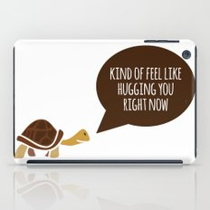 Feel like hugging you right now iPad Case