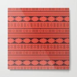 Moana Tribal Inspired Metal Print