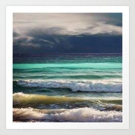 OCEAN#01 Art Print