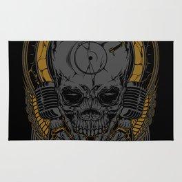 Metal Disc Jockey Rug