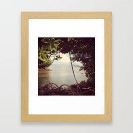 KAHALUU Framed Art Print