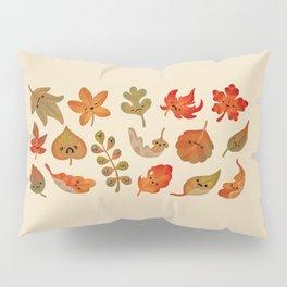 Sad fallen leaves Pillow Sham