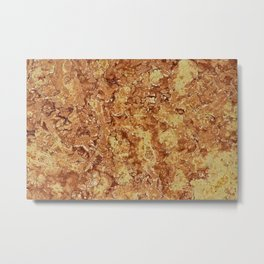 Polished Marble Stone Mineral  Abstract Texture 3 Metal Print