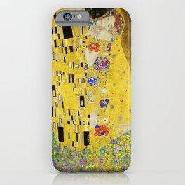 The Kiss, Gustav Klimt iPhone Case