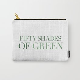 Fifty Shades Of Green Carry-All Pouch