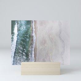 Emerald Cascade  Mini Art Print