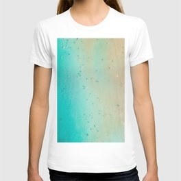 Let The Sea Set You Free   Aerial Sea Wall Art   Ocean Beach  Home Print   Large Print   Large Print T-shirt