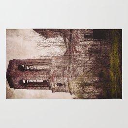 Church in ruins Rug
