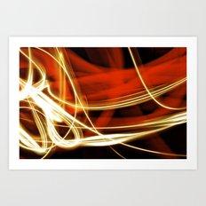 merging light III Art Print