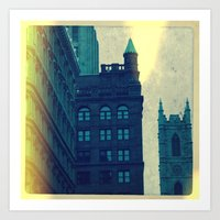 montreal Art Prints featuring Montreal by Jean-François Dupuis