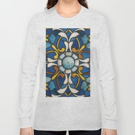 John La Farge - Blue panel Long Sleeve T-shirt