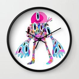 DISCO ALIEN Wall Clock