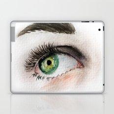 Green Eye Study Laptop & iPad Skin