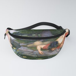 Echo And Narcissus WM Waterhouse Fanny Pack