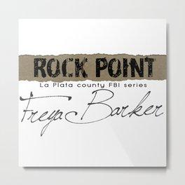 Rock Point: La Plata County FBI Metal Print