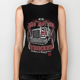 Bad Mother Trucker Biker Tank