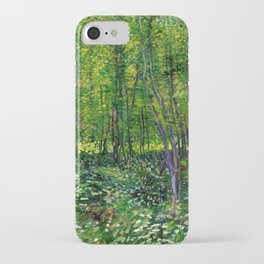 Vincent Van Gogh Trees and Undergrowth 1887 iPhone Case