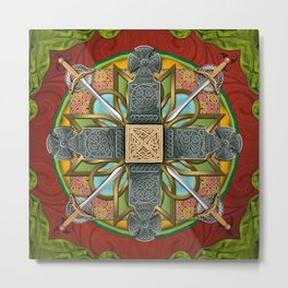 Mandala Celtic Glory Metal Print