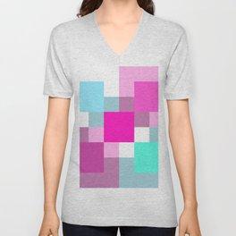Mosaic Unisex V-Neck