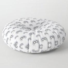 Edna Mode White Pattern nº1 Floor Pillow