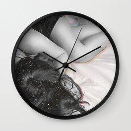 My Head Is In The Stars Wall Clock