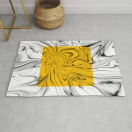 Color Pop Yellow Rug