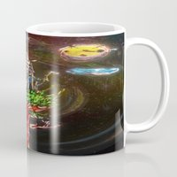 castle in the sky Mugs featuring Castle in the Sky by Sarah Maurer