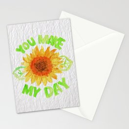 You Made My Day Stationery Cards