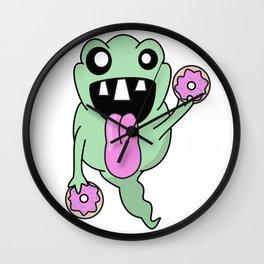 Donut Slimer Wall Clock