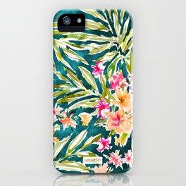NUEVO VALLARTA Tropical Floral iPhone Case