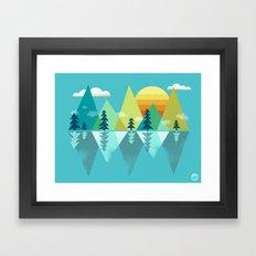 the Clarion Lake Framed Art Print