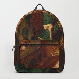 Dante Gabriel Rossetti - St George and Princess Sabra Backpack