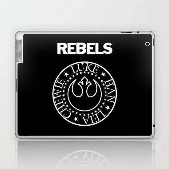 I Wanna Be a Rebel Laptop & iPad Skin