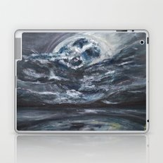 blame it on the full moon Laptop & iPad Skin