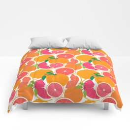Grapefruit Harvest Comforters