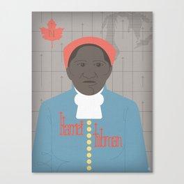 Harriet Tubman Portrait Canvas Print