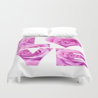 all you need is love Duvet Covers featuring Love is all you need by LebensART