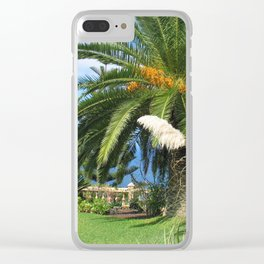 Sunny Tenrife Clear iPhone Case