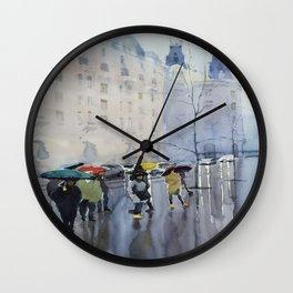 Plaze de las Cortes Wall Clock