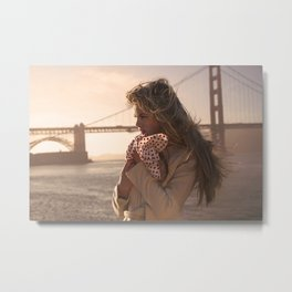 Leading Lady Metal Print