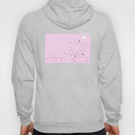 l o v e (pink) Hoody