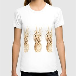 Pineapples and illusion T-shirt