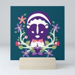Baltimore Woods Skunk Mini Art Print