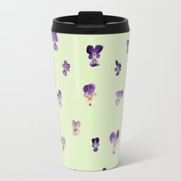 Johnny Jump Up (GREEN) Travel Mug