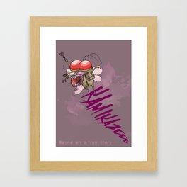 Ka Mi Ka Ze Framed Art Print