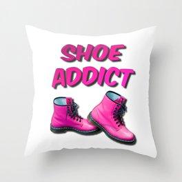 Shoe Addict Throw Pillow