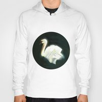 swan Hoodies featuring Swan by Jet McLeod