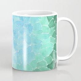 Abstract Sea Glass Coffee Mug