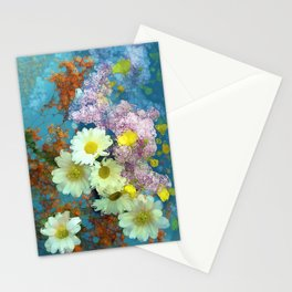 Flower Play Stationery Cards